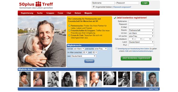 50plus-Treff Startseite