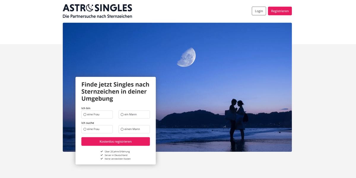 Astro-Singles Startseite