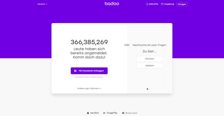 Badoo Startseite