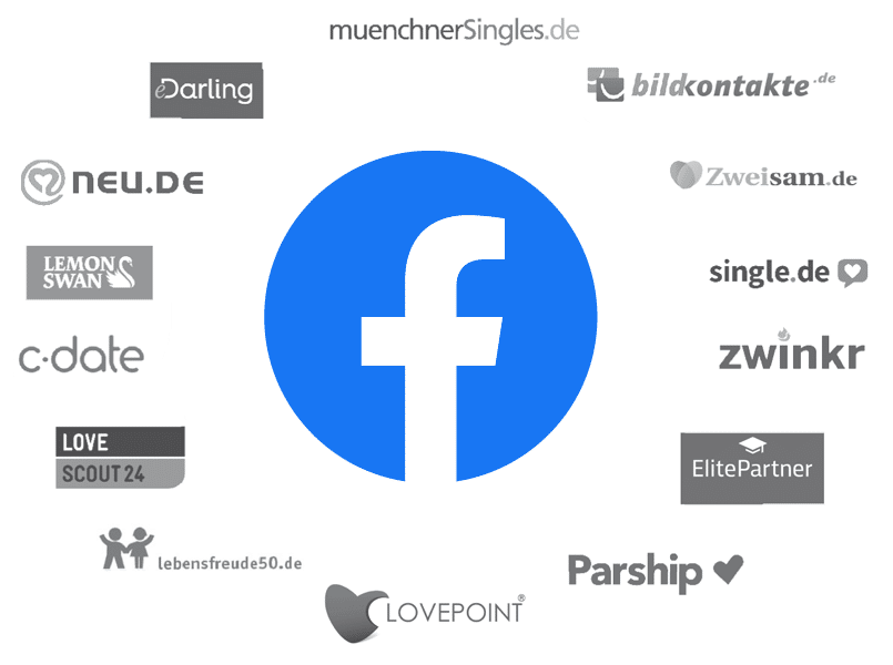 Facebook-Dating Konkurrenz