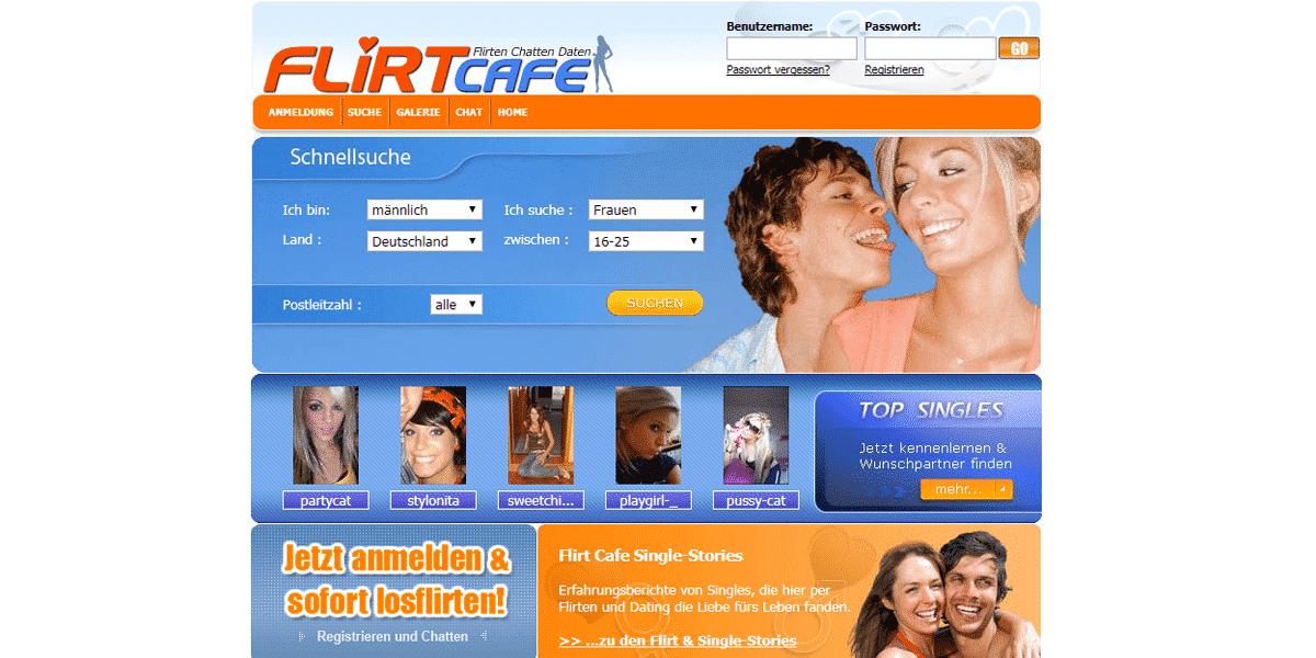 Flirtcafe.de Startseite