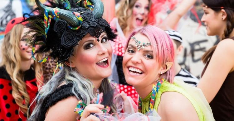 Flirten an Karneval und Fasnacht