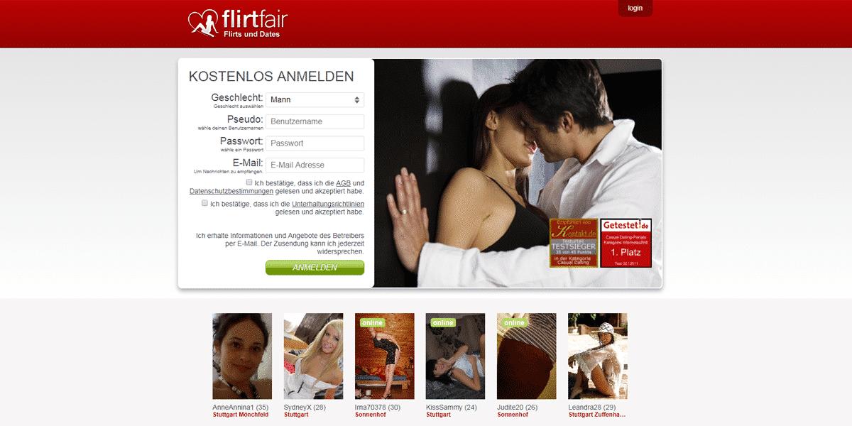 Flirtfair.de Startseite