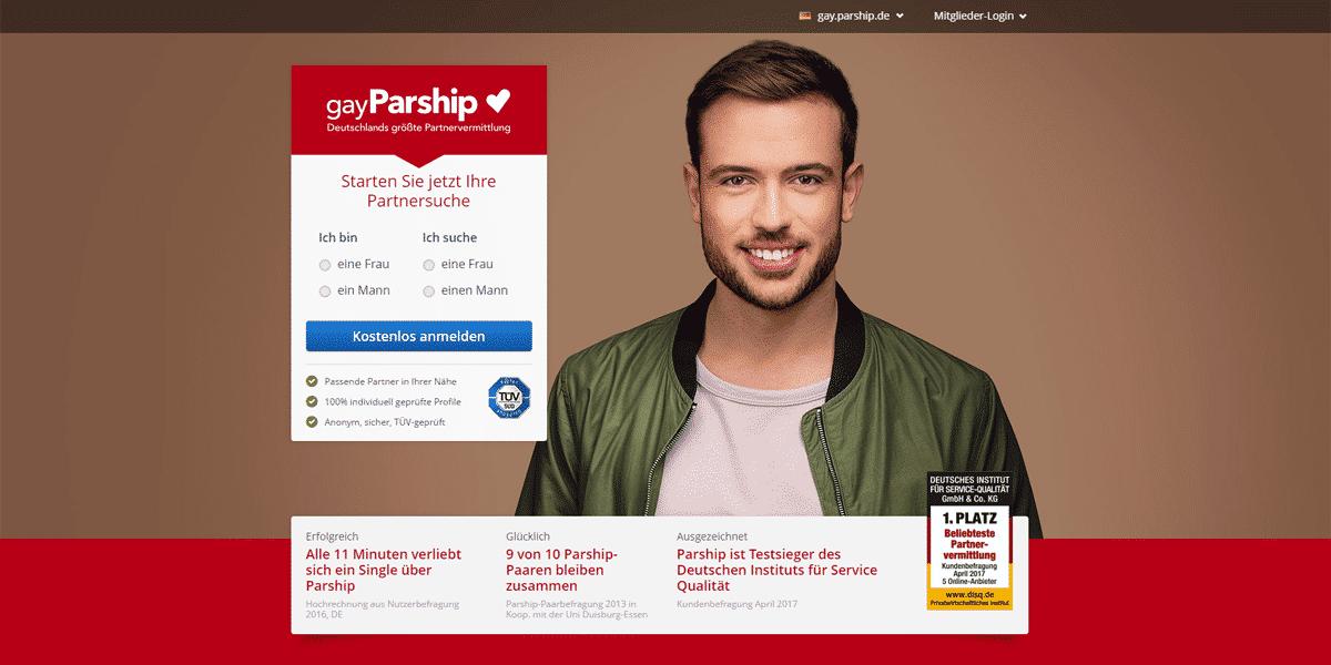 gayParship Startseite