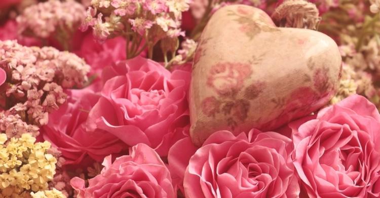 Geschenk zum Valentintag