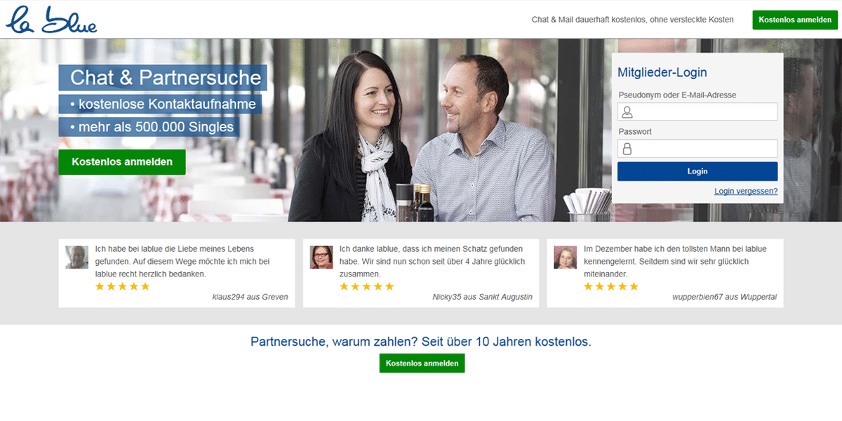 50plus partnersuche test
