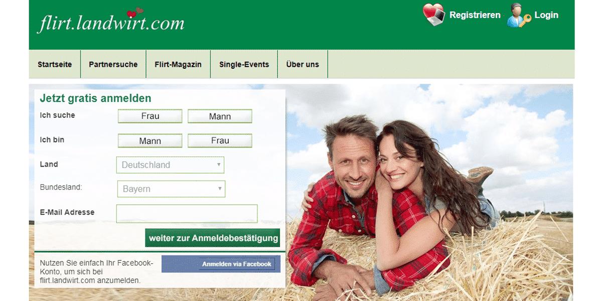 Landwirt-Flirt Startseite