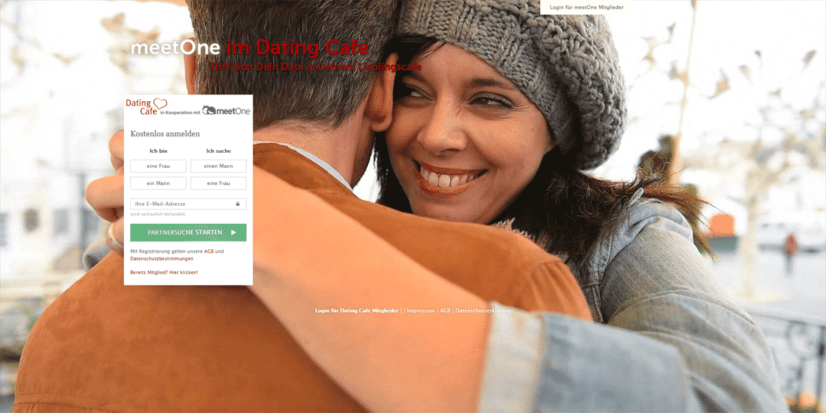 meetOne.de Startseite