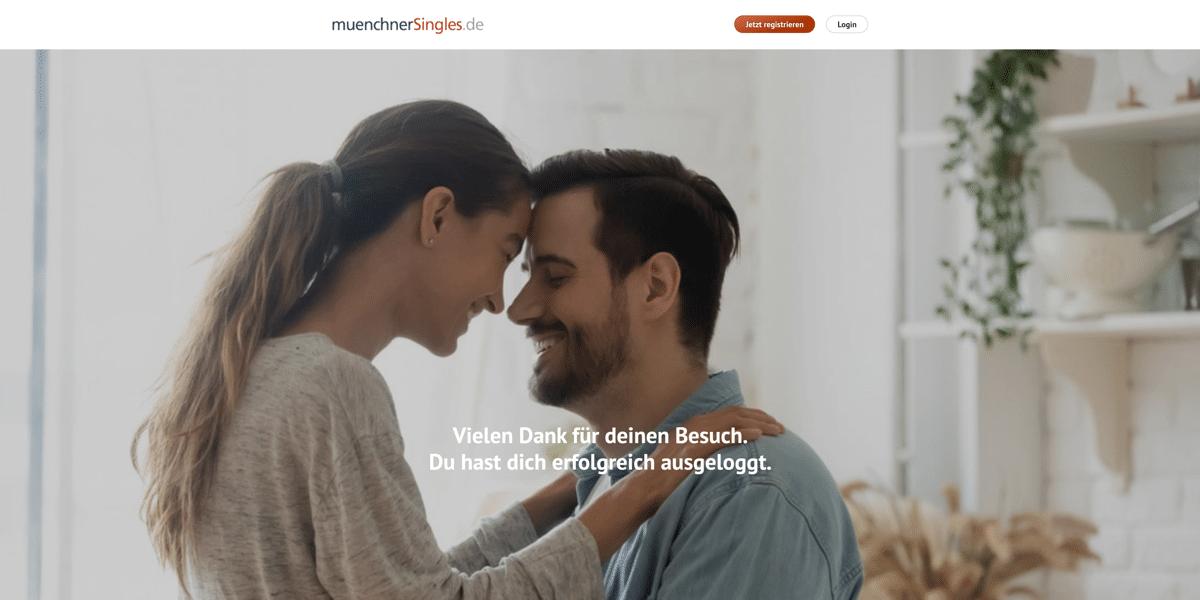 muenchnerSingles.de Startseite