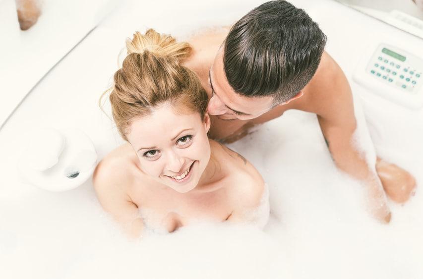 Sex in der Badewanne verhindert eine Schwangerschaft