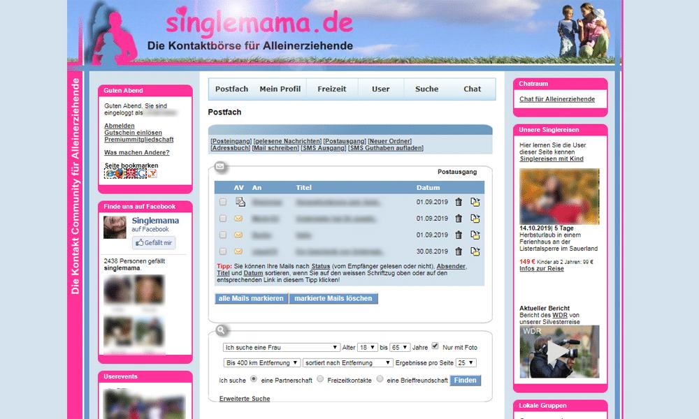 Singlemama.de Postfach