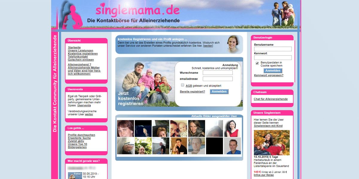 Singlemama Startseite