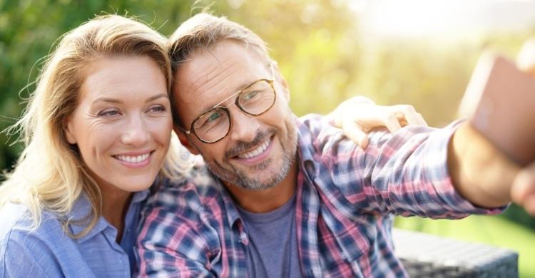Wie verlieben sich Männer ab 50?